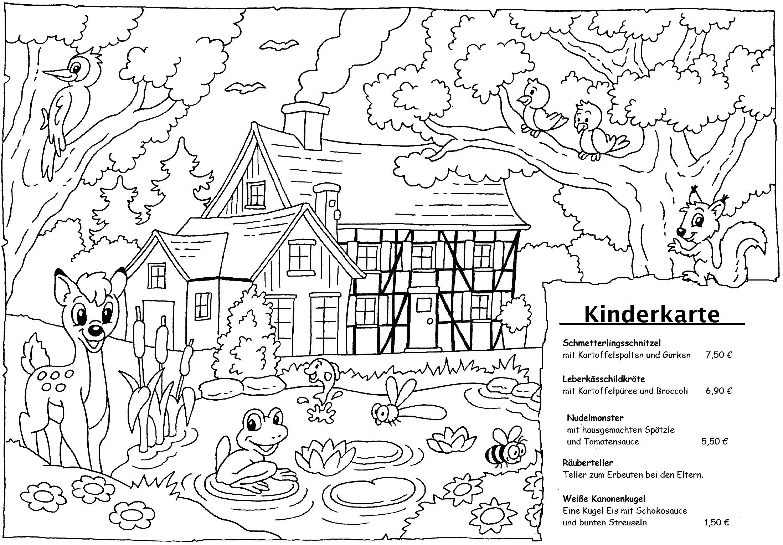 Kinderkarte 2017 - Speisekarte